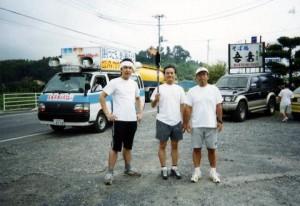 7月・反核平和の火リレーで千葉県を半周!