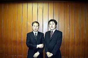 12月15日、一水会の鈴木邦夫さんと。