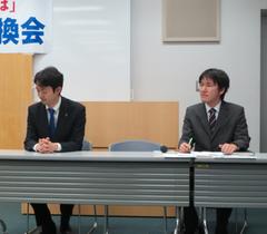 千葉市長と亀井たくま画像